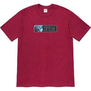"""ENCOMENDA - SUPREME - Camiseta Miles Davis """"Bordô"""" -NOVO-"""