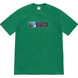 """ENCOMENDA - SUPREME - Camiseta Miles Davis """"Verde"""" -NOVO-"""