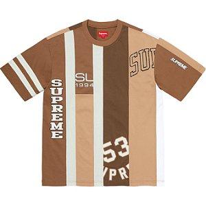 "ENCOMENDA - SUPREME - Camiseta Reconstructed ""Marrom"" -NOVO-"