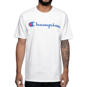 "CHAMPION - Camiseta Graphic Jersey ""Branco"" -NOVO-"