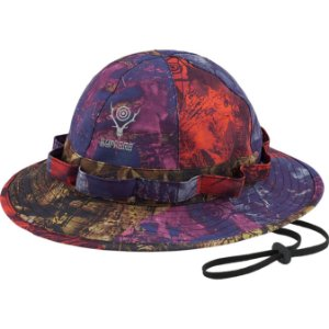 "ENCOMENDA - SUPREME x SOUTH2 WEST8 - Chapéu Bucket Jungle ""Multi"" -NOVO-"