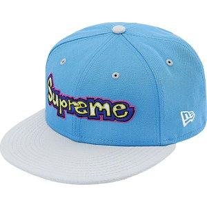 """ENCOMENDA - SUPREME x NEW ERA - Boné Gonz Logo """"Azul"""" -NOVO-"""