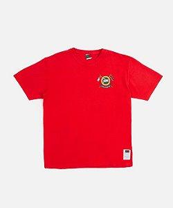 """!PATTA x TOMMY HILFIGER - Camiseta Community """"Vermelho"""" -NOVO-"""