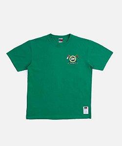 """!PATTA x TOMMY HILFIGER - Camiseta Community """"Verde"""" -NOVO-"""