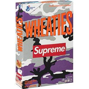 """!SUPREME x WHEATIES - Caixa de Cereal """"Roxo"""" -NOVO-"""
