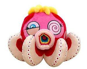 """!TAKASHI MURAKAMI - Pelúcia Octopus Pequena """"Vermelho"""" -NOVO-"""