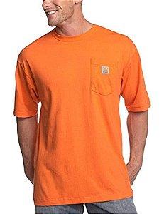 "CARHARTT - Camiseta Pocket ""Laranja"" -NOVO-"