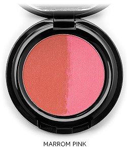 Blush HD Mosaico Marrom e Pink 3g