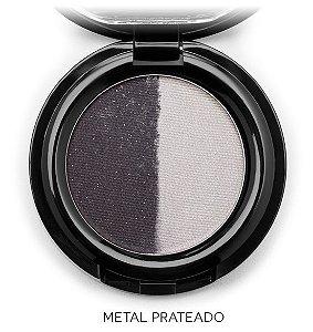 Sombra Duo Mosaico Alta Definição – Metal Prateado 2g