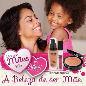 Kit Peles Negras Ares Make-up