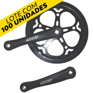 [LOTE C/ 100 unidades] Pedivela Para Bike 52 Dentes