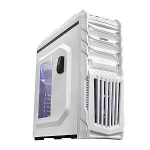 COMPUTADOR VGAMER FORCE - Intel Core i5 7° ger, H110, 8GB DDR4, RX 480 8GB, 1TB, 600W, TIGER BRANCO / PC GAMER
