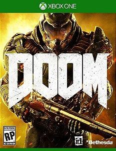 JOGO Doom 4 - Xbox One - XONE / FPS