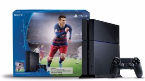 Console Playstation 4 - 500GB - Blu-Ray - FIFA mídia física Bundle
