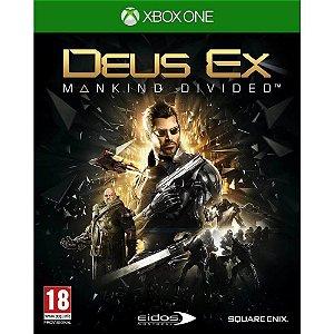 Jogo Deus Ex: Mankind Divided - Xbox One - XONE / Aventura-ação - Pré-venda