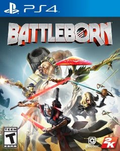 Jogo Battleborn - Playstation 4 - PLAY 4 - PS4 / FPS