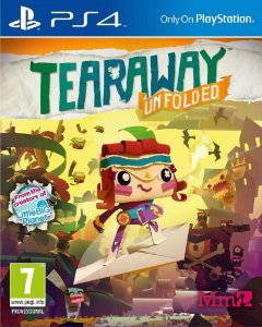 JOGO Tearaway Unfolded - Playstation 4 - PLAY 4 - PS4