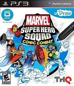 JOGO Marvel Super Hero Squad Comic Combat - PS3 - Usado