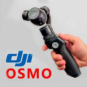 Dji Osmo C/ Câmera 4k 12mp Mini Ronin Bastão Estabilizador
