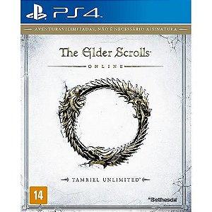 Jogo The Elder Scrolls Online: Tamriel Unlimited - PS4 - PLAY 4 - PLAYSTATION 4 / RPG