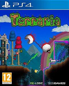 Jogo Terraria - PS4 - PLAY 4 - PLAYSTATION 4