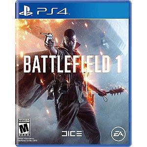 Jogo Battlefield 1 - PS4 - Play 4 - Playstation 4 - FPS  BF1