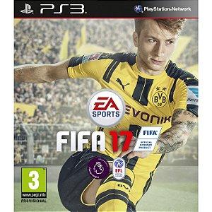 Jogo FIFA 17 - PS3 - FUTEBOL