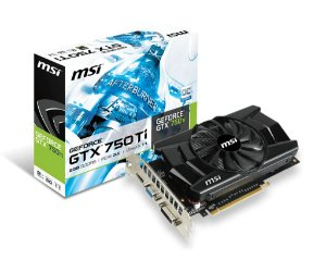 PLACA DE VIDEO MSI GEFORCE GTX 750 TI 2GB DDR5 128 BITS - N750TI-2GD5/OC