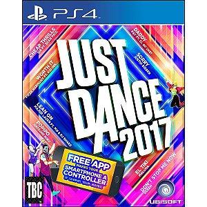 Jogo Just Dance 2017 - Playstation 4 - Play 4 - PS4 - Dança