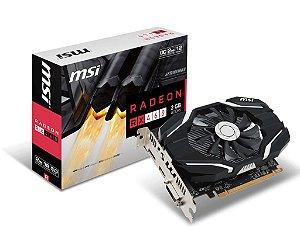 PLACA DE VIDEO MSI RADEON RX 460 2GB OC DDR5 128 BITS - RX 460 2G OC