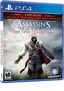 Jogo Assassin's Creed The Ezio Collection - PS4 - PLAY 4 - PLAYSTATION 4 / Pré-venda