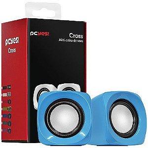 Caixa de Som PCYes Cross 6W RMS Azul 21890
