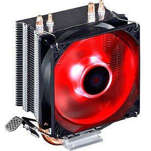 Cooler para Processador PcYes Zero K Z2 92mm AMD/Intel Led Vermelho ACZK292LDV