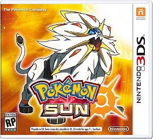 Jogo Nintendo 3DS Pokemon Sun