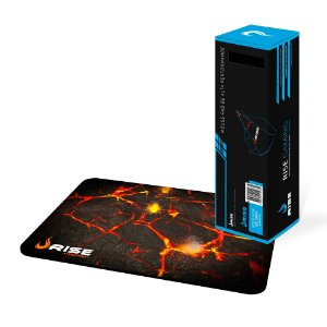 Mouse Pad M Speed Volcano Medio Fibertek RG-MP-01-VO RISE