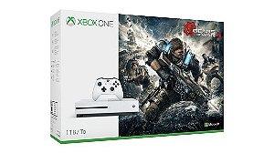 Console Microsoft Xbox One S - edição com Gears of War 4 - 1TB