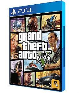 Jogo GTA V Playstation 4