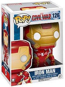 Boneco Funko Pop - Homem De Ferro 3 Filmes Marvel