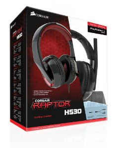 Headset Corsair Raptor HS30 Gaming ( NA-Y ) PN # CA-9011121-NA-Y