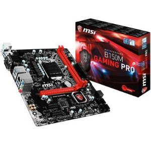 Placa Mãe B150M Gaming Pro Msi Com Mouse Gamer B150M Gaming Pro
