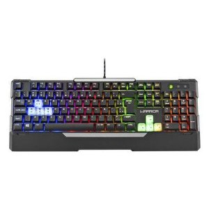 Warrior Gamer Teclado Sensibilidade Mecanica Led Rainbow (05)