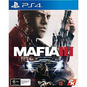 Jogo Mafia 3 Playstation 4