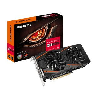Placa de Vídeo Rx 580 8Gb Gaming Ddr5 Gigabyte Gv-Rx580Gaming-8Gd