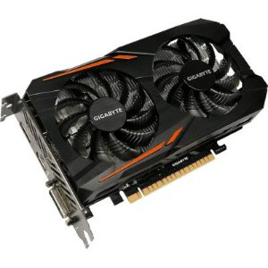 Placa de Vídeo GEFORCE GTX 1050 TI GV-N105TOC-4GD -