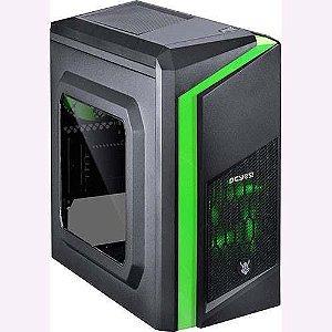 Computador Gamer V-Gamer Chacal - G4560 - H110 - 8Gb DDR4 - 1Tb HD - Fonte 400w - RX 550 2gb - Gabinete
