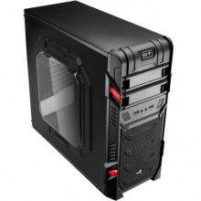 Computador Gamer V-Gamer Hunter - G4560 - H110 - 8Gb DDR4 - 1Tb HD - Fonte 400w - 1050 Ti - Gabinete