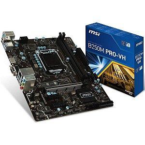 Placa mãe Msi B250M Pro VH - M-ATX