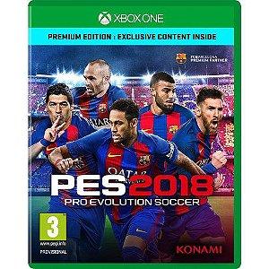 Pré venda Jogo Pro Evolution Soccer 2018 (PES 2018) -Xbox One