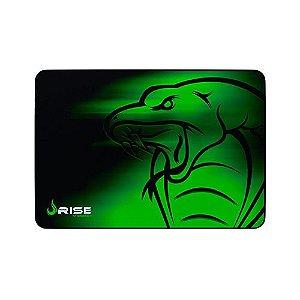 Mousepad Rise Gaming- SNAKE - COSTURADO- Tamanho Grande - Fibertek
