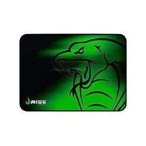 Mousepad Rise Gaming- SNAKE - COSTURADO - Tamanho medio - Fibertek